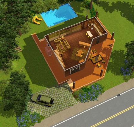 Villa 13x450