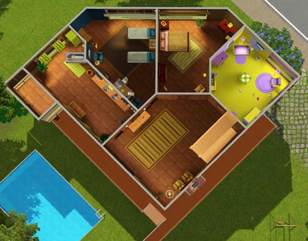 Villa 14x450