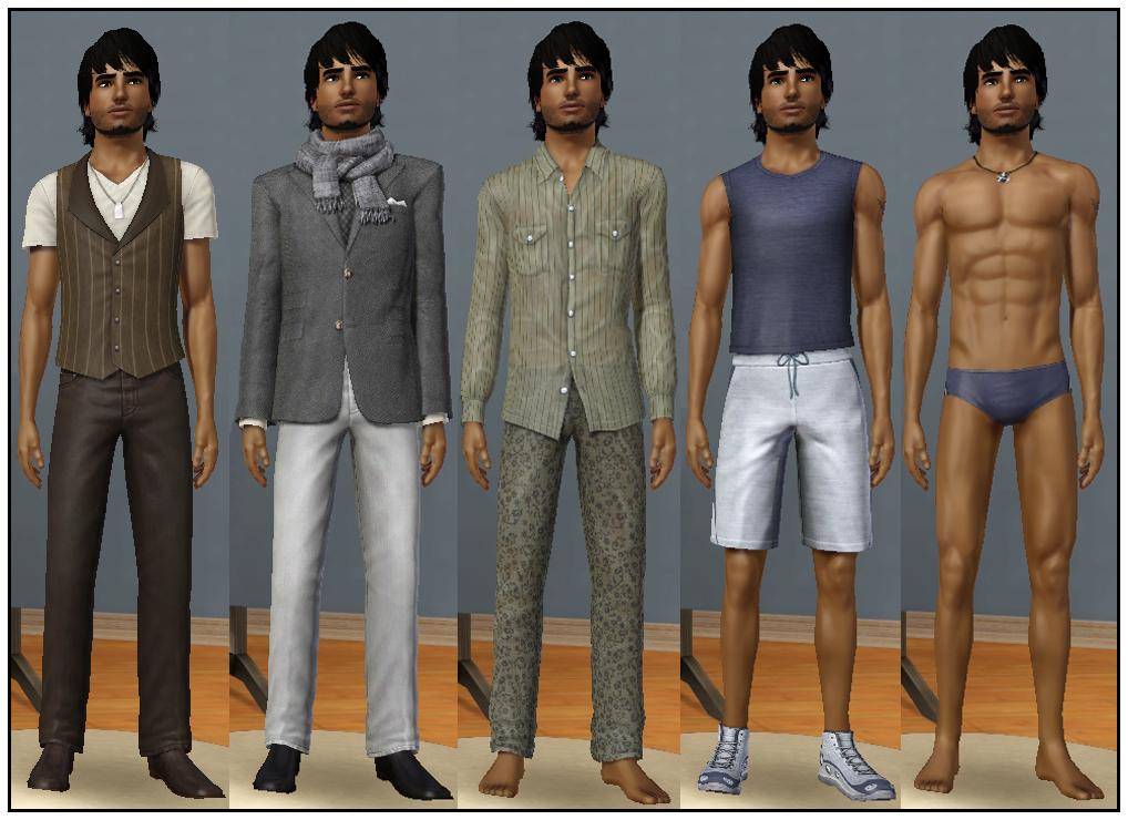 descargar ropa sims 2