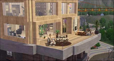 Sims 3 apartment lots missimis for Apartment design sims 3